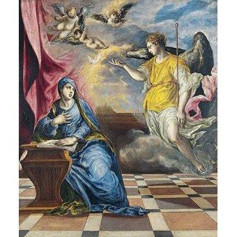 - Cuadro -La Anunciación, 1576- - Greco, El (D. Theotocopoulos)
