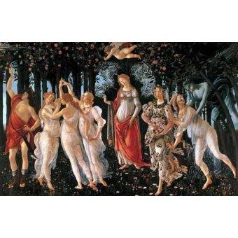 - Cuadro -La primavera- - Botticelli, Alessandro