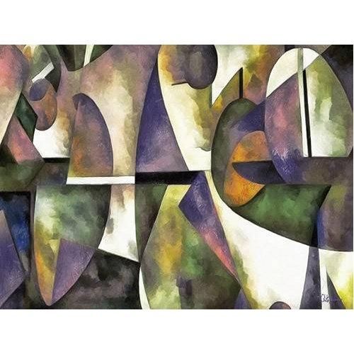 cuadros abstractos - Cuadro -Moderno CM6676-