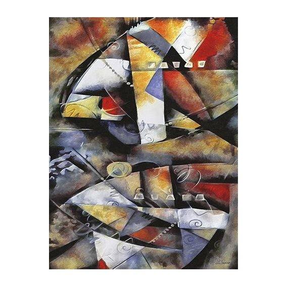 cuadros abstractos - Cuadro -Moderno CM6706-