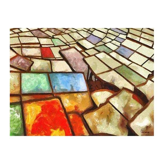 cuadros abstractos - Cuadro -Moderno CM6766-