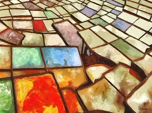 cuadros-abstractos - Cuadro -Moderno CM6766- - Medeiros, Celito