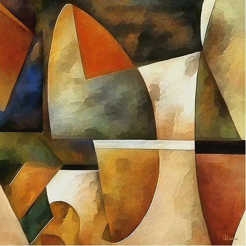 cuadros abstractos - Cuadro -Moderno CM8884-
