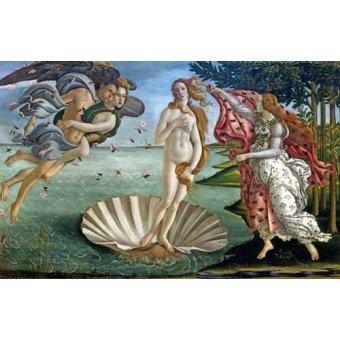 - Cuadro -El nacimiento de Venus- - Botticelli, Alessandro