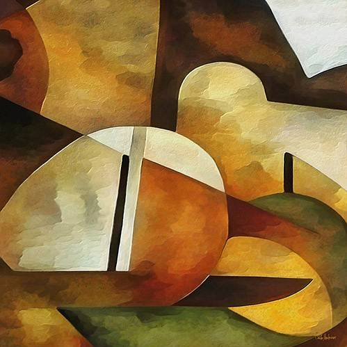cuadros-abstractos - Cuadro -Moderno CM8889- - Medeiros, Celito