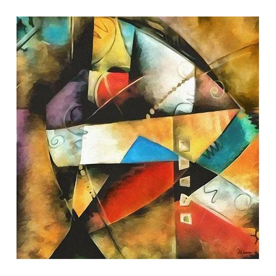 cuadros abstractos - Cuadro -Moderno CM9004-