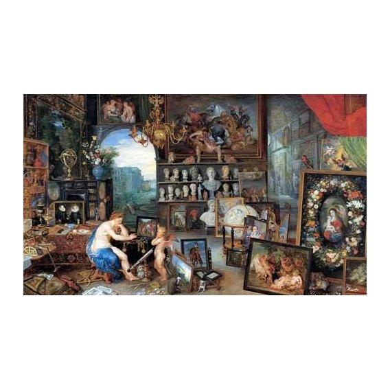 cuadros de retrato - Cuadro -El sentido de la vista-