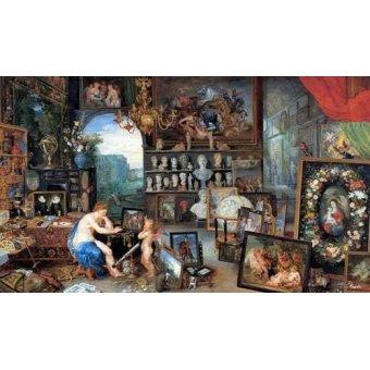 - Cuadro -El sentido de la vista- - Bruegel
