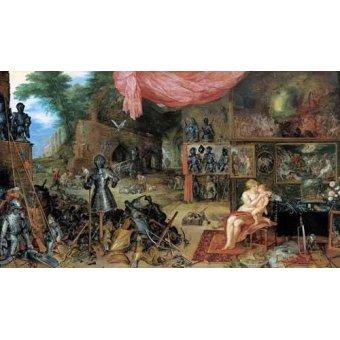 - Cuadro -El sentido del tacto- - Bruegel