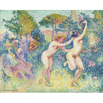 - Cuadro -La Fuite Des Nymphes- - Cross, Henri Edmond