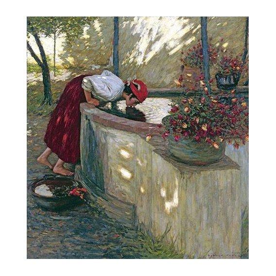 cuadros de retrato - Cuadro -Ligurian Roses-