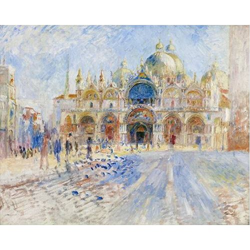 cuadros de paisajes - Cuadro -La Plaza de San Marco, Venecia-