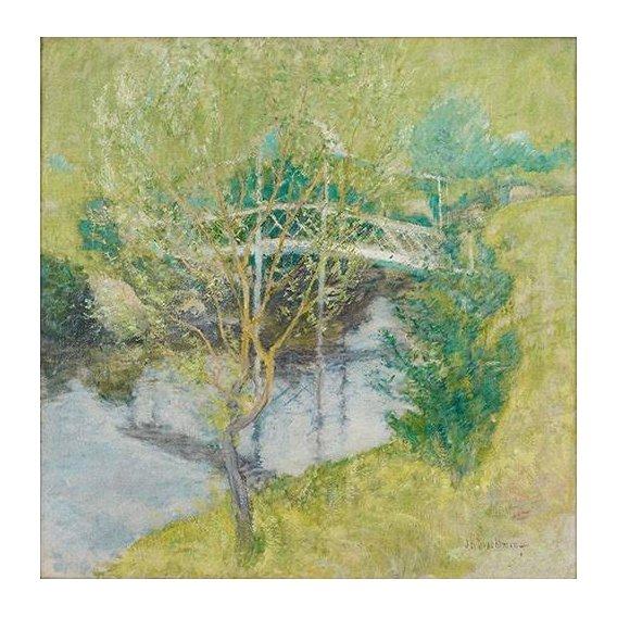 cuadros de paisajes - Cuadro -El Puente Blanco-