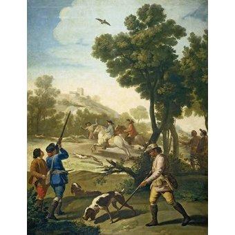 - Cuadro -Partida de caza- - Goya y Lucientes, Francisco de