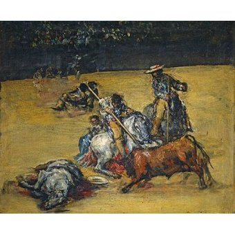 cuadros de fauna - Cuadro -Corrida de toros- - Goya y Lucientes, Francisco de
