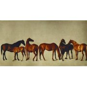 Cuadro -Mares and Foals- (caballos)