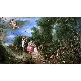 - Cuadro -Los cuatro elementos- - Bruegel