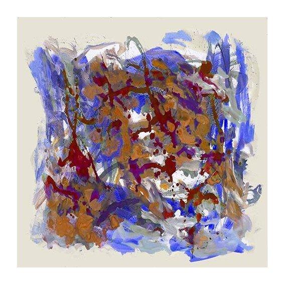 cuadros abstractos - Cuadro -Mapa de Europa-
