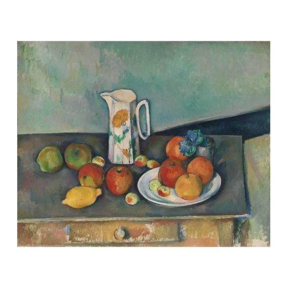 cuadros de bodegones - Cuadro -Bodegon con frutas y jarra-