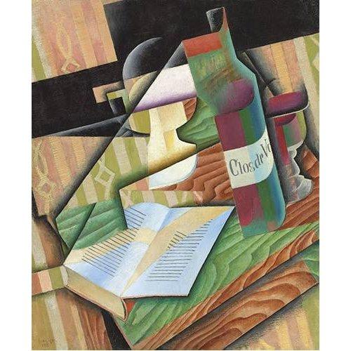 cuadros abstractos - Cuadro -Le livre-