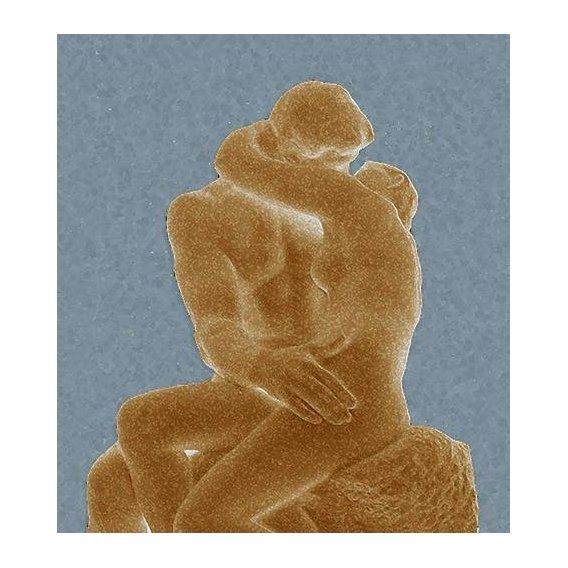 cuadros modernos - Cuadro -The Kiss (El beso)-
