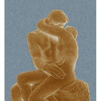 - Cuadro -The Kiss (El beso)- - Rodin, Auguste