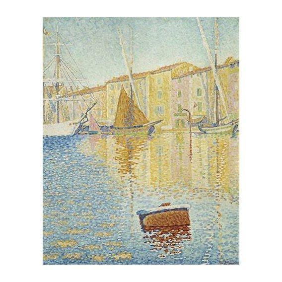 cuadros de marinas - Cuadro -La Bouée rouge, Saint-Tropez, 1895-