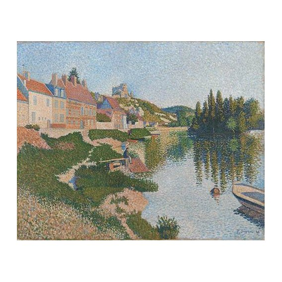 cuadros de paisajes - Cuadro -Les Andelys-