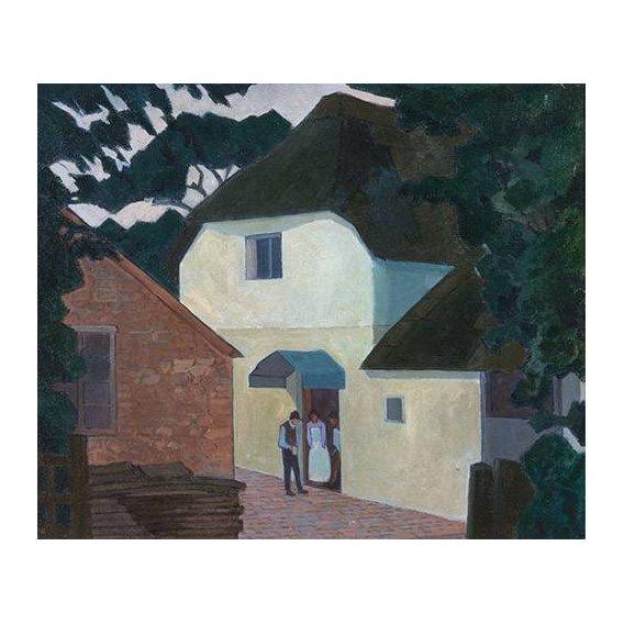 cuadros de paisajes - Cuadro -The Caller at the Mill-