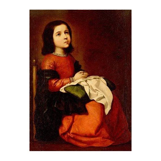 cuadros religiosos - Cuadro -La Infancia De La Virgen-