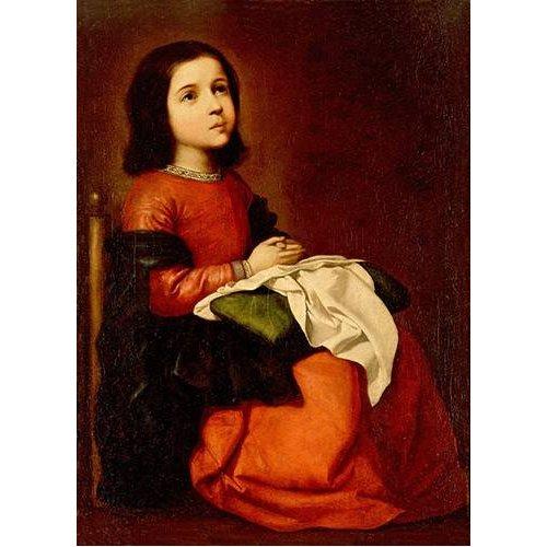 Cuadro -La Infancia De La Virgen-