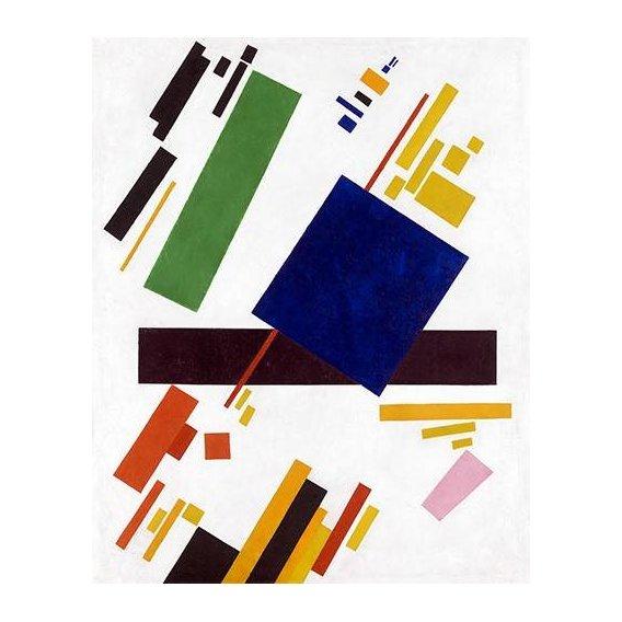 cuadros abstractos - Cuadro -Suprematist Composition-