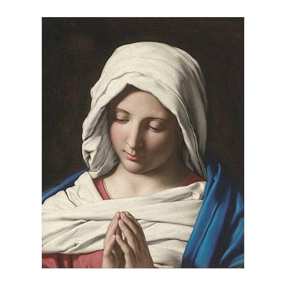 cuadros religiosos - Cuadro -La VIrgen Rezando-