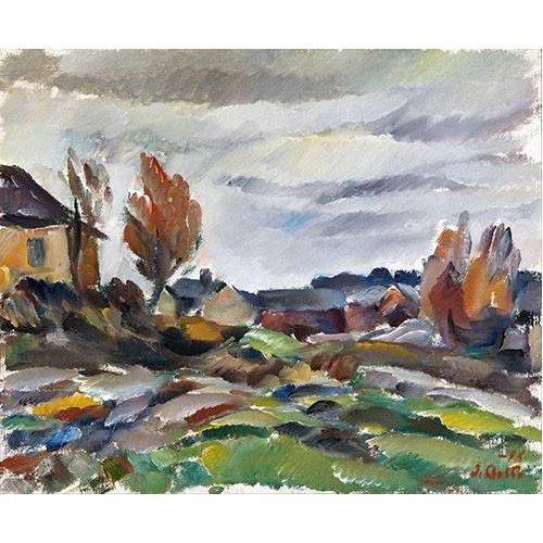 cuadros de paisajes - Cuadro -Storm-
