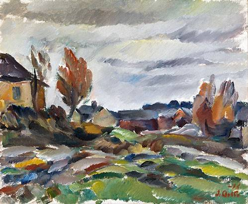 cuadros-de-paisajes - Cuadro -Storm- - Aalto, Ilmari
