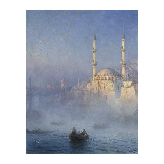 cuadros de marinas - Cuadro -Constantinopla-