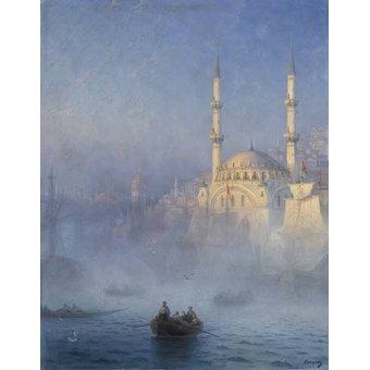 cuadros de marinas - Cuadro -Constantinopla- - Aivazovsky, Ivan Konstantinovich