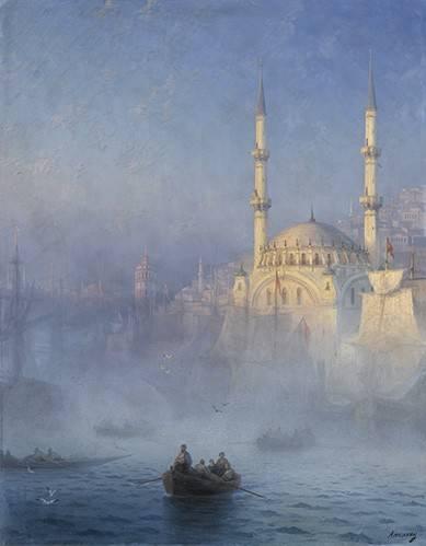 cuadros-de-marinas - Cuadro -Constantinopla- - Aivazovsky, Ivan Konstantinovich