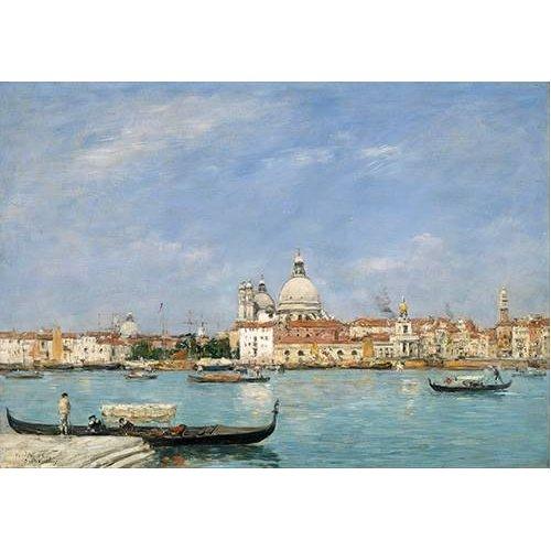 Cuadro -Venice, Santa Maria della Salute from San Giorgio-