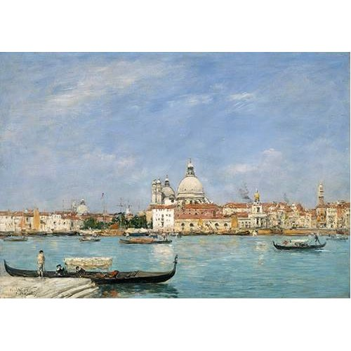 cuadros de marinas - Cuadro -Venice, Santa Maria della Salute from San Giorgio-