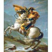 Cuadro -Bonaparte cruzando los Alpes, 1801-
