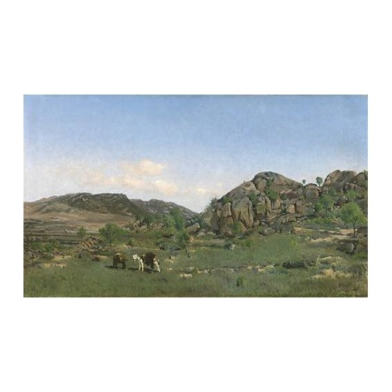 cuadros de paisajes - Cuadro -Paisaje de Torrelodones (Madrid)-