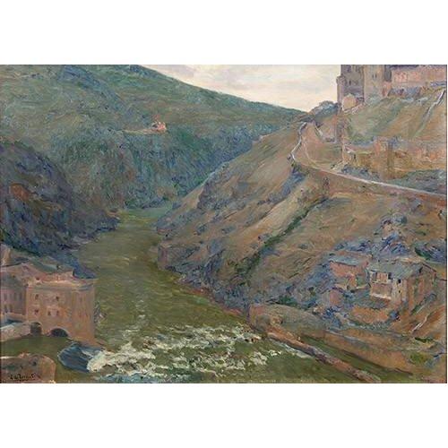 cuadros de paisajes - Cuadro -El Tajo, Toledo-