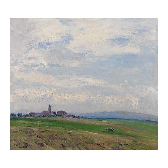 cuadros de paisajes - Cuadro -Paisaje castellano-