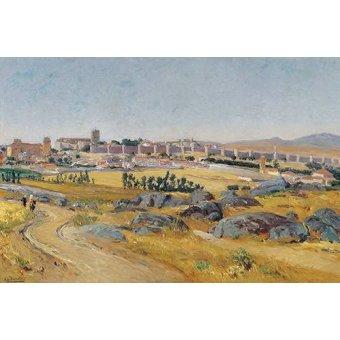 - Cuadro -Avila, 1909- - Beruete, Aureliano de
