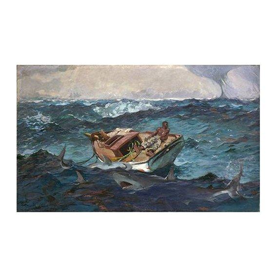 cuadros de marinas - Cuadro -The Gulf Stream, 1899-