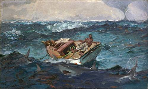 cuadros-de-marinas - Cuadro -The Gulf Stream, 1899- - Homer, Winslow