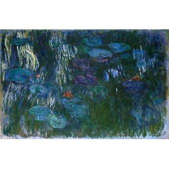 Cuadro -Water Lilies (2)- - Monet, Claude