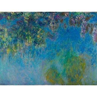 Cuadro -Wisteria- - Monet, Claude