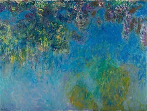 cuadros-de-paisajes - Cuadro -Wisteria- - Monet, Claude